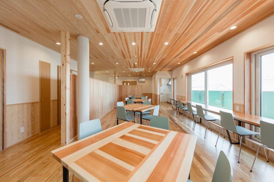 社員食堂スペース