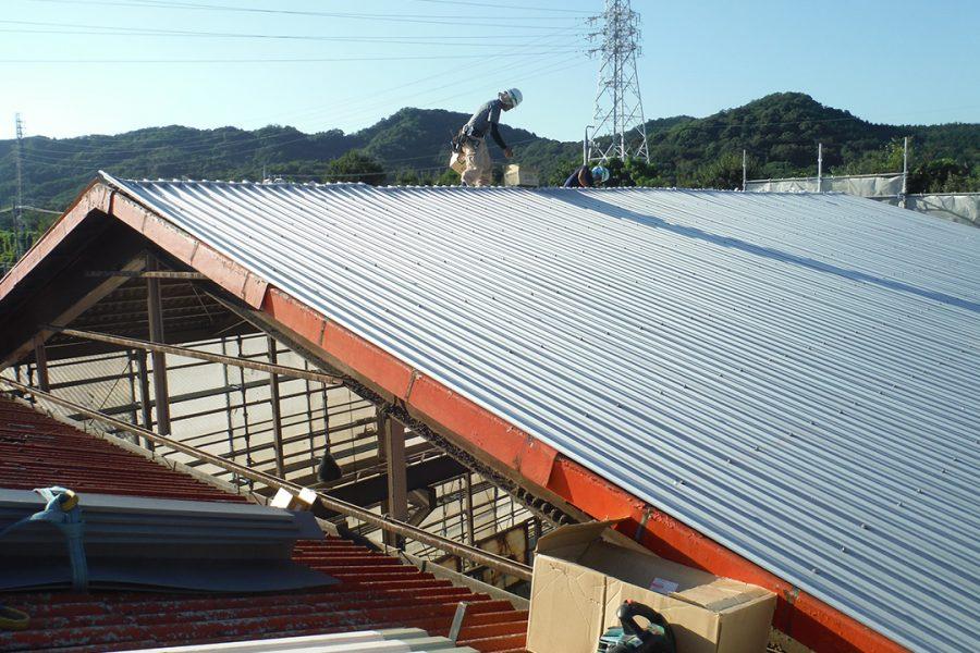 屋根:改修後
