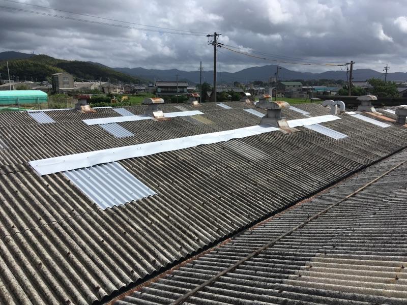 遮熱工事 屋根カバー工法 施工事例(屋根)